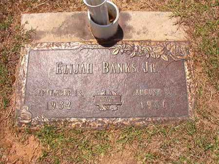 BANKS, JR, ELIJAH - Columbia County, Arkansas | ELIJAH BANKS, JR - Arkansas Gravestone Photos