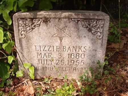 BANKS, LIZZIE - Columbia County, Arkansas | LIZZIE BANKS - Arkansas Gravestone Photos