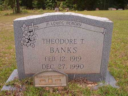 BANKS, THEODORE T - Columbia County, Arkansas | THEODORE T BANKS - Arkansas Gravestone Photos