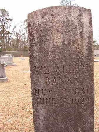 BANKS, WILLIAM ALLEN - Columbia County, Arkansas | WILLIAM ALLEN BANKS - Arkansas Gravestone Photos