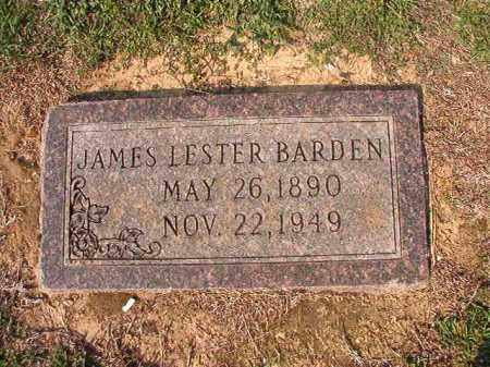 BARDEN, JAMES LESTER - Columbia County, Arkansas | JAMES LESTER BARDEN - Arkansas Gravestone Photos