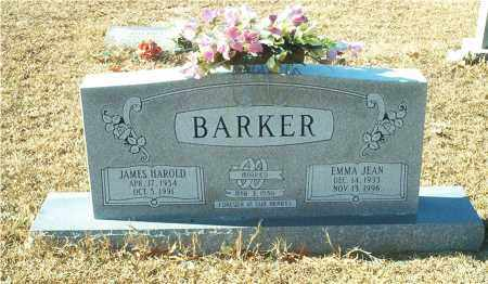 BARKER, JAMES HAROLD - Columbia County, Arkansas | JAMES HAROLD BARKER - Arkansas Gravestone Photos