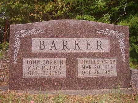 BARKER, LUCILLE - Columbia County, Arkansas | LUCILLE BARKER - Arkansas Gravestone Photos
