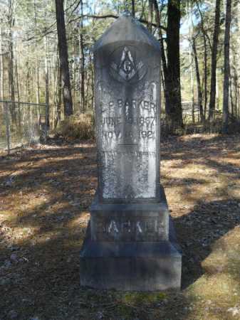 BARKER, L P - Columbia County, Arkansas | L P BARKER - Arkansas Gravestone Photos