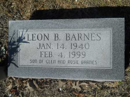 BARNES, LEON B - Columbia County, Arkansas | LEON B BARNES - Arkansas Gravestone Photos