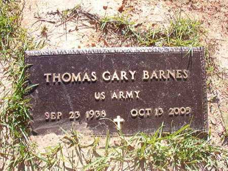 BARNES (VETERAN), THOMAS GARY - Columbia County, Arkansas | THOMAS GARY BARNES (VETERAN) - Arkansas Gravestone Photos