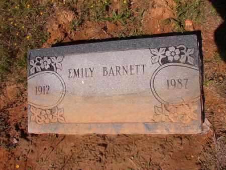 BARNETT, EMILY - Columbia County, Arkansas | EMILY BARNETT - Arkansas Gravestone Photos