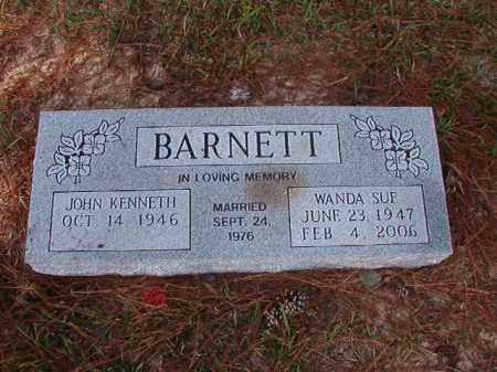 BARNETT, WANDA SUE - Columbia County, Arkansas | WANDA SUE BARNETT - Arkansas Gravestone Photos