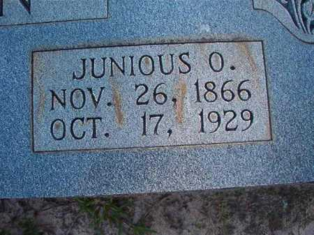 BASKIN, JUNIOUS O - Columbia County, Arkansas | JUNIOUS O BASKIN - Arkansas Gravestone Photos