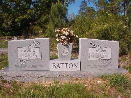 BATTON, CALVIN W - Columbia County, Arkansas | CALVIN W BATTON - Arkansas Gravestone Photos