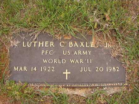 BAXLEY, JR (VETERAN WWII), LUTHER C - Columbia County, Arkansas | LUTHER C BAXLEY, JR (VETERAN WWII) - Arkansas Gravestone Photos