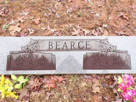 BEARCE, ANDREW A - Columbia County, Arkansas | ANDREW A BEARCE - Arkansas Gravestone Photos