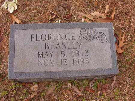 BEASLEY, FLORENCE - Columbia County, Arkansas | FLORENCE BEASLEY - Arkansas Gravestone Photos