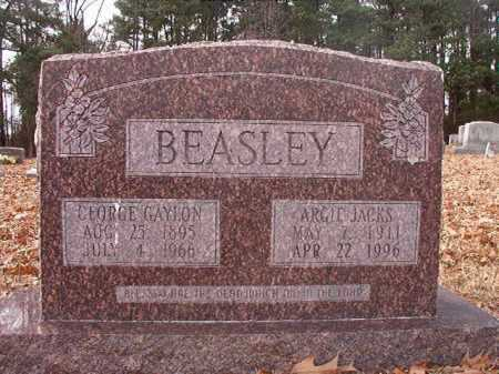 JACKS BEASLEY, ARGIE - Columbia County, Arkansas | ARGIE JACKS BEASLEY - Arkansas Gravestone Photos