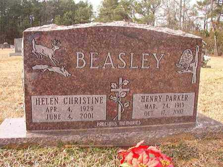 BEASLEY, HELEN CHRISTINE - Columbia County, Arkansas | HELEN CHRISTINE BEASLEY - Arkansas Gravestone Photos