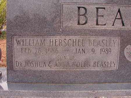 BEASLEY, WILLIAM HERSCHEL - Columbia County, Arkansas | WILLIAM HERSCHEL BEASLEY - Arkansas Gravestone Photos