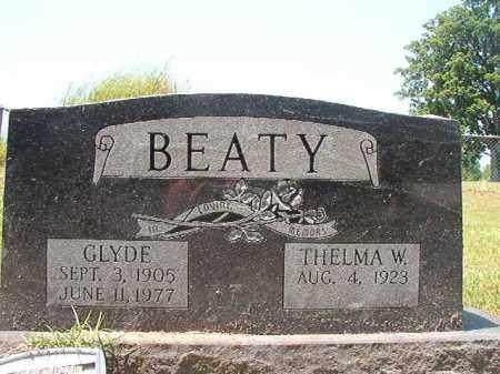 BEATY, GLYDE - Columbia County, Arkansas | GLYDE BEATY - Arkansas Gravestone Photos