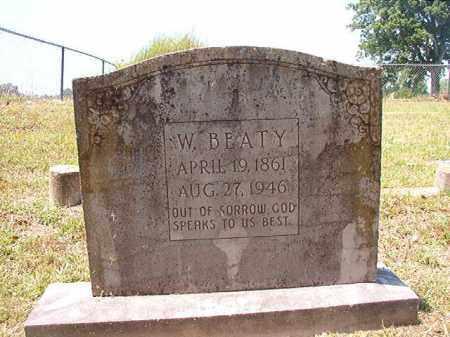 BEATY, W - Columbia County, Arkansas | W BEATY - Arkansas Gravestone Photos
