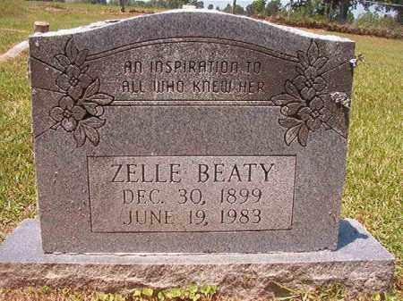 BEATY, ZELLE - Columbia County, Arkansas | ZELLE BEATY - Arkansas Gravestone Photos