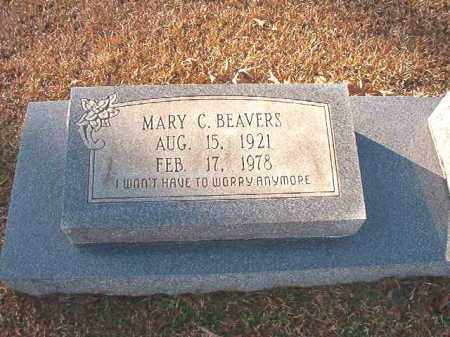 BEAVERS, MARY C - Columbia County, Arkansas | MARY C BEAVERS - Arkansas Gravestone Photos