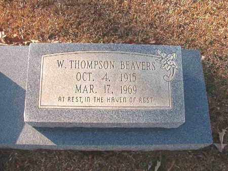 BEAVERS, W THOMPSON - Columbia County, Arkansas | W THOMPSON BEAVERS - Arkansas Gravestone Photos