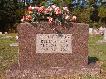 BEDINGFIELD, EUNICE VIVIAN - Columbia County, Arkansas | EUNICE VIVIAN BEDINGFIELD - Arkansas Gravestone Photos
