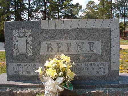 BEENE, JOHN ADRAIN - Columbia County, Arkansas | JOHN ADRAIN BEENE - Arkansas Gravestone Photos