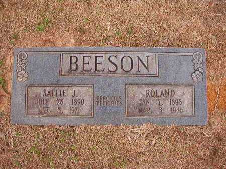 BEESON, ROLAND - Columbia County, Arkansas | ROLAND BEESON - Arkansas Gravestone Photos