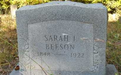 BEESON, SARAH ISABEL - Columbia County, Arkansas | SARAH ISABEL BEESON - Arkansas Gravestone Photos