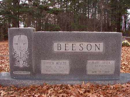 BEESON, MARY LELIA - Columbia County, Arkansas | MARY LELIA BEESON - Arkansas Gravestone Photos