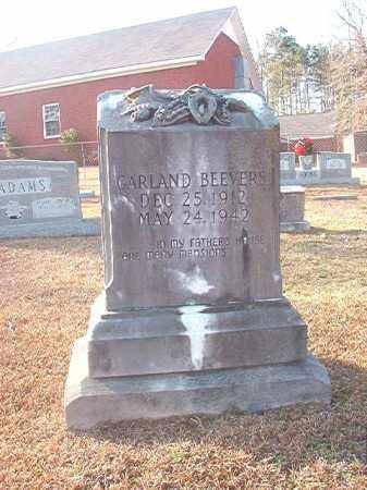 BEEVERS, GARLAND - Columbia County, Arkansas   GARLAND BEEVERS - Arkansas Gravestone Photos