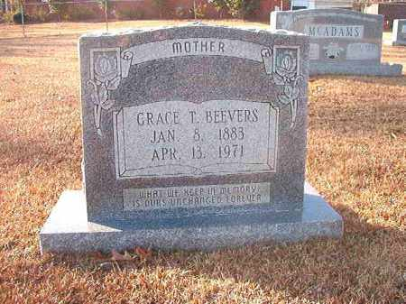BEEVERS, GRACE T - Columbia County, Arkansas | GRACE T BEEVERS - Arkansas Gravestone Photos