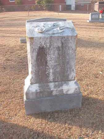 BEEVERS, JOHN F - Columbia County, Arkansas | JOHN F BEEVERS - Arkansas Gravestone Photos