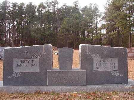 BEGGS, ANNA F - Columbia County, Arkansas | ANNA F BEGGS - Arkansas Gravestone Photos