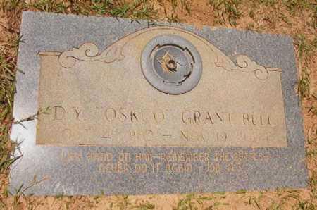 "BELL, D Y ""OSKCO"" GRANT - Columbia County, Arkansas | D Y ""OSKCO"" GRANT BELL - Arkansas Gravestone Photos"