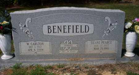 BENEFIELD, W. CARLTON - Columbia County, Arkansas | W. CARLTON BENEFIELD - Arkansas Gravestone Photos