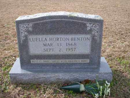 BENTON, LUELLA - Columbia County, Arkansas | LUELLA BENTON - Arkansas Gravestone Photos