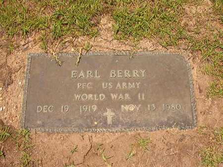 BERRY (VETERAN WWII), EARL - Columbia County, Arkansas | EARL BERRY (VETERAN WWII) - Arkansas Gravestone Photos