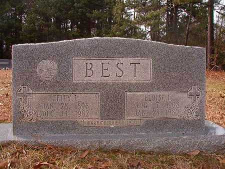 BEST, FELTY P - Columbia County, Arkansas | FELTY P BEST - Arkansas Gravestone Photos