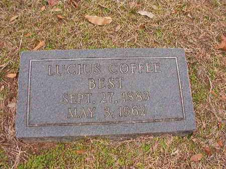 BEST, LUCIUS COFFEE - Columbia County, Arkansas | LUCIUS COFFEE BEST - Arkansas Gravestone Photos