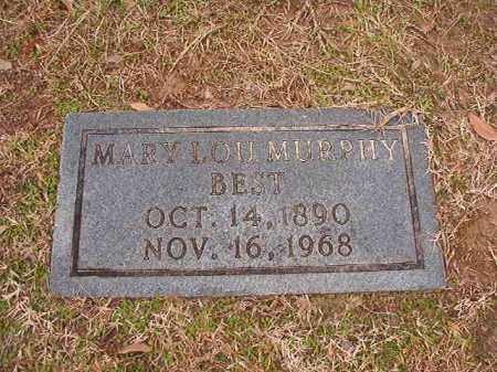 MURPHY BEST, MARY LOU - Columbia County, Arkansas | MARY LOU MURPHY BEST - Arkansas Gravestone Photos