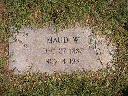 BIRD, MAUD W - Columbia County, Arkansas | MAUD W BIRD - Arkansas Gravestone Photos