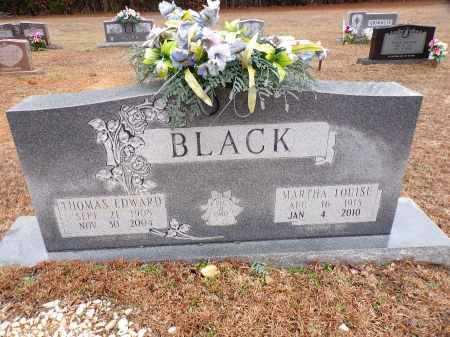 BLACK, THOMAS EDWARD - Columbia County, Arkansas | THOMAS EDWARD BLACK - Arkansas Gravestone Photos