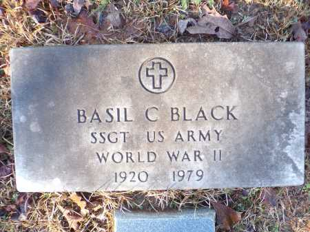 BLACK (VETERAN WWII), BASIL C - Columbia County, Arkansas | BASIL C BLACK (VETERAN WWII) - Arkansas Gravestone Photos