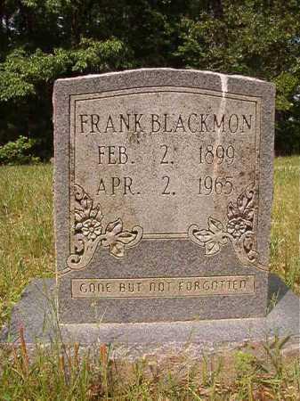 BLACKMON, FRANK - Columbia County, Arkansas | FRANK BLACKMON - Arkansas Gravestone Photos