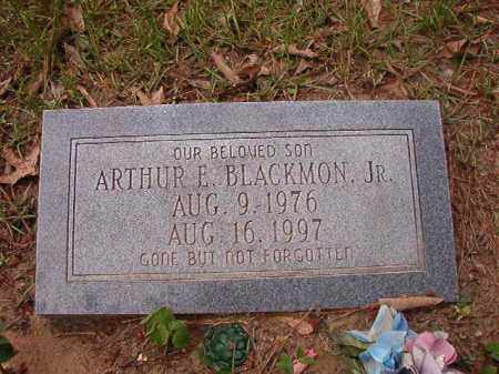 BLACKMON, JR, ARTHUR E - Columbia County, Arkansas | ARTHUR E BLACKMON, JR - Arkansas Gravestone Photos