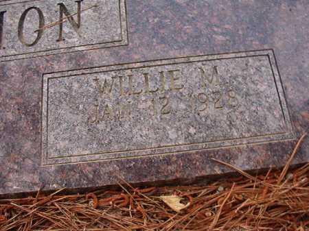 BLACKMON, WILLIE M - Columbia County, Arkansas | WILLIE M BLACKMON - Arkansas Gravestone Photos