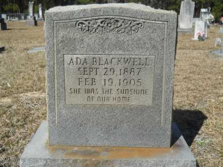 BLACKWELL, ADA - Columbia County, Arkansas | ADA BLACKWELL - Arkansas Gravestone Photos