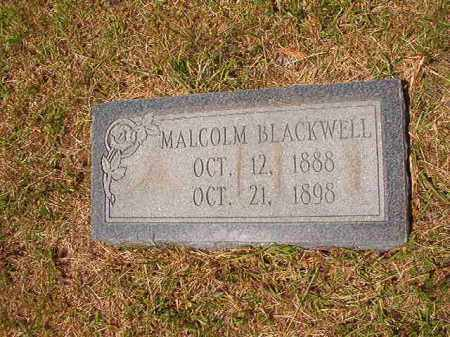 BLACKWELL, MALCOLM - Columbia County, Arkansas | MALCOLM BLACKWELL - Arkansas Gravestone Photos