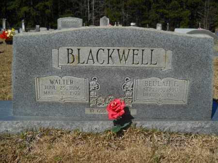 BLACKWELL, WALTER - Columbia County, Arkansas | WALTER BLACKWELL - Arkansas Gravestone Photos